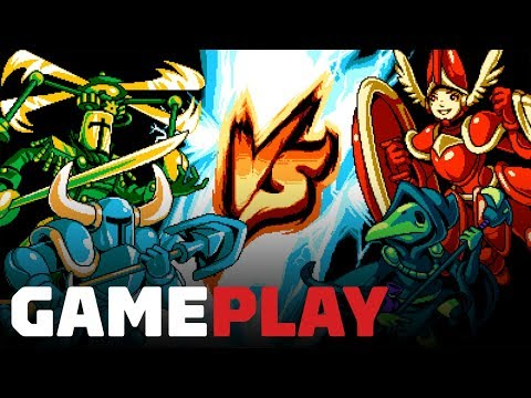 Shovel Knight Showdown: 10 Minutes of Exclusive Gameplay