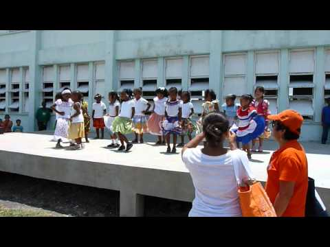 Aly dancing - Kriol Culture