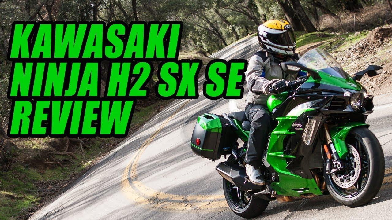 2018 kawasaki ninja h2 sx se review youtube. Black Bedroom Furniture Sets. Home Design Ideas