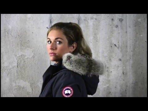 Canada Goose langford parka sale cheap - Canada Goose Women's Kensington Parka - YouTube