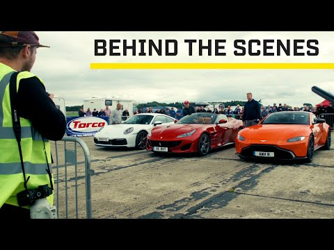 MAKING OF: Sports Cars At Top Speed Tuesday   Top Gear: Series 28