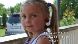 """Cine m-a facut om mare"" ( DELIA) - COVER by LARISA AILOAIE"
