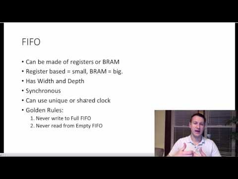 What is a FIFO in an FPGA