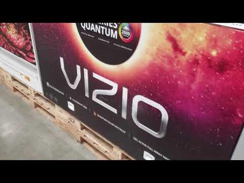 VIZIO QUANTUM M SERIES FIRST LOOK ! COSTCO WHERE IS THE QUANTUM XP75??