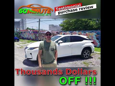 Feedback on car purchase Lexus