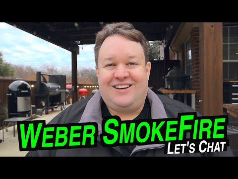 Weber Pellet Grill Review SmokeFire | Let's Chat