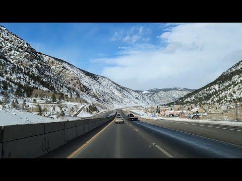 Colorado Dashcam Vail To Boulder Colorado 3/15/2021