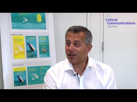 Interview with EE's Mansoor Hanif on UK's Emergency Services Network (ESN)