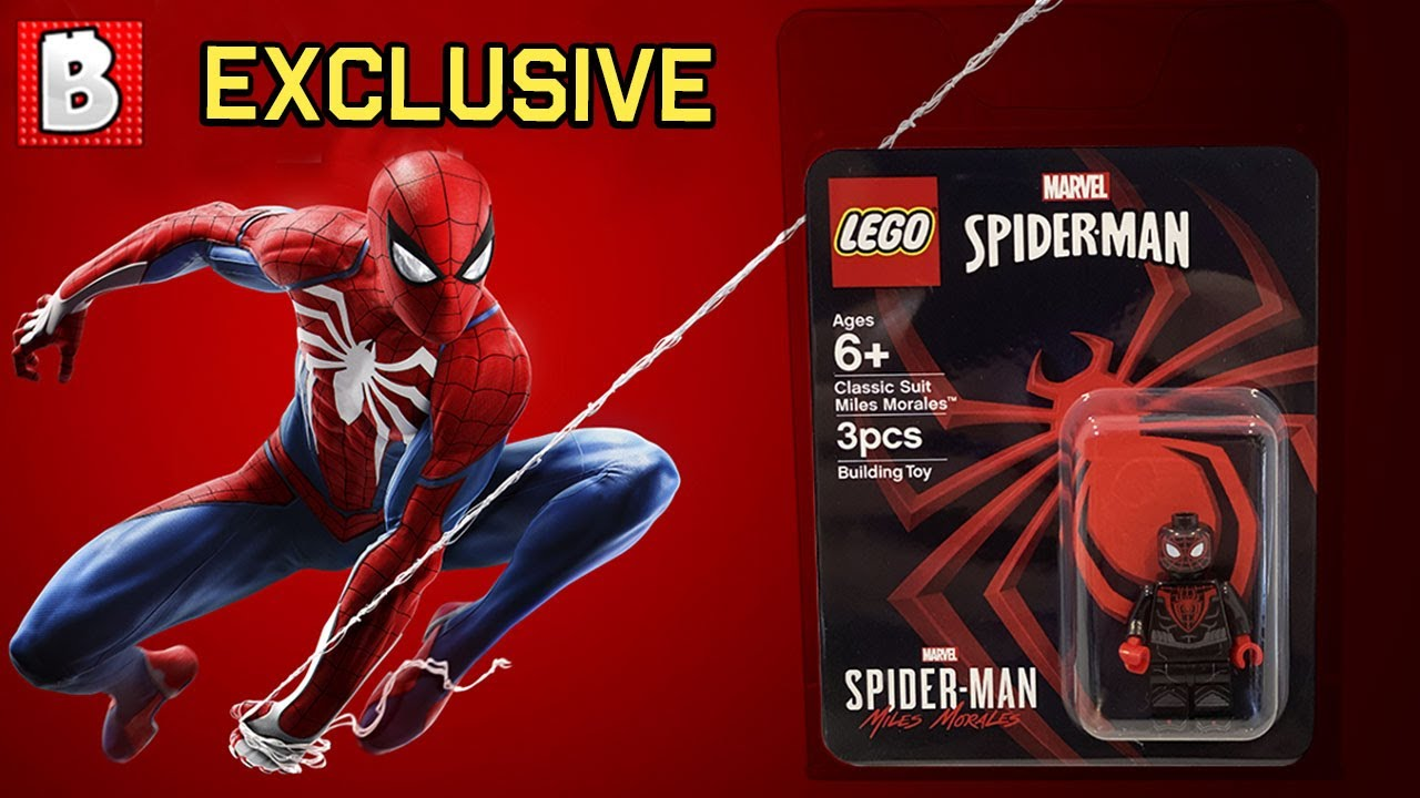 LEGO SDCC Miles Morales Exclusive is gonna be crazy collecbitle! | LEGO News