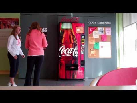 Coke Happiness Machine At BGSU