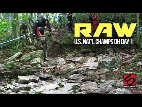 ROCKS VS. BIKES - Vital RAW - U.S. National Champs DH Day 1