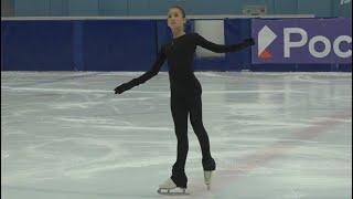 Софья Акатьева Контрольные прокаты Юниоров Короткая Программа Sofya Akatyeva Junior Test Skates sP
