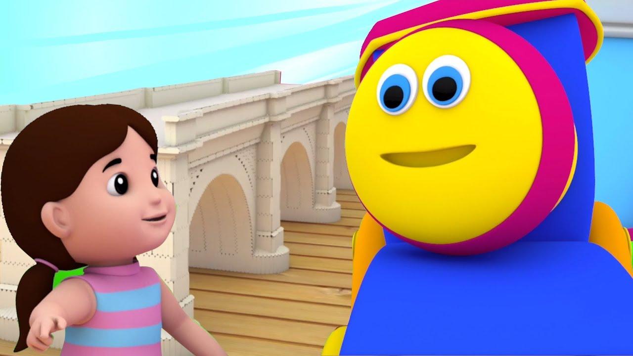 Bob O Trem Ponte Londres Desenho Animado Video Para Criancas