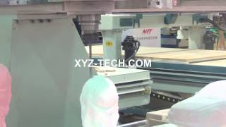 4 Axis Cnc Router/cnc Milling Machine Xyz 1325 For 3d Mould Worldcup
