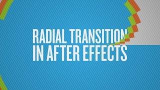 كيفية إنشاء شعاعي انتقالية في بعد الآثار