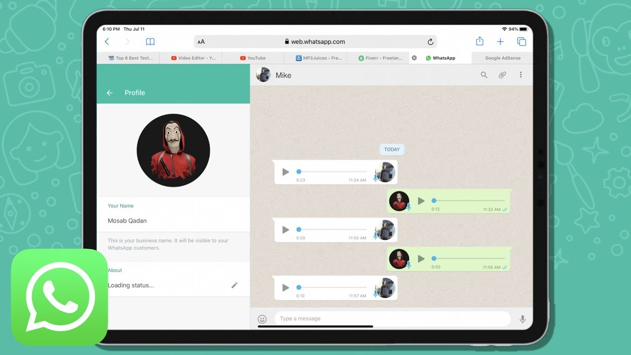 How To Download WhatsApp on iPad Pro   iPadOS 13 - YouTube