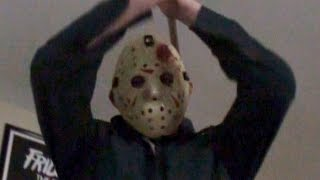 Jason Voorhees Mask Part 4 Shower Scene Crash Creations Unboxing