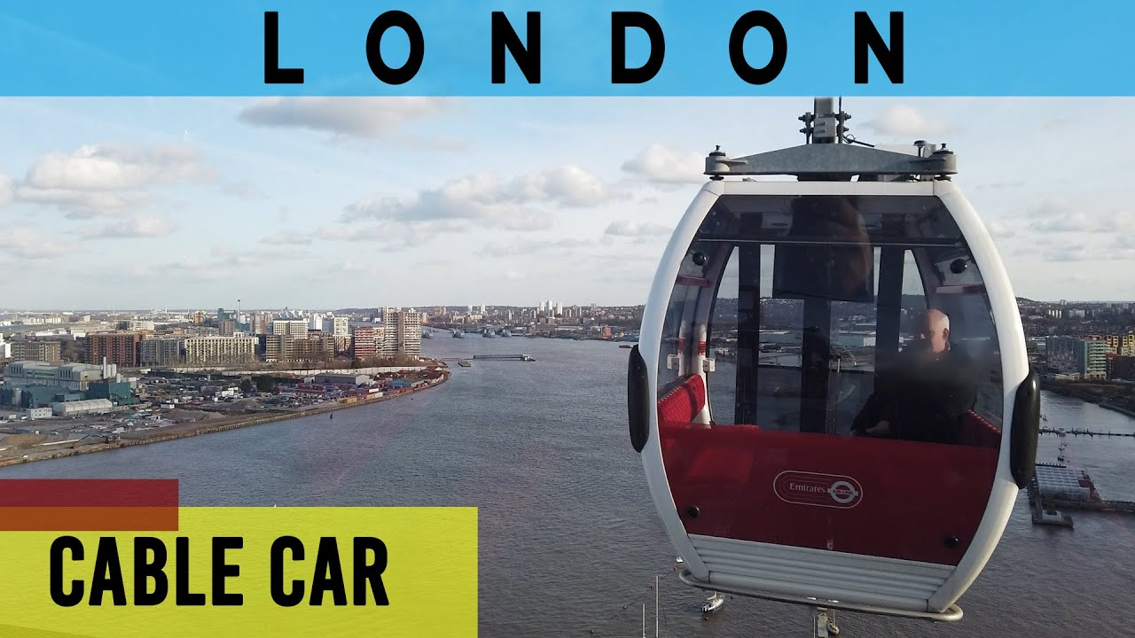 Emirates Cable Car London | from Greenwich to Royal Docks | #tbt February 2020