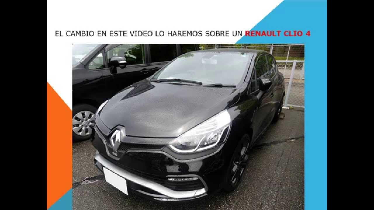 renault clio 4 como cambiar filtro habitaculo filtro aire acondicionado youtube. Black Bedroom Furniture Sets. Home Design Ideas