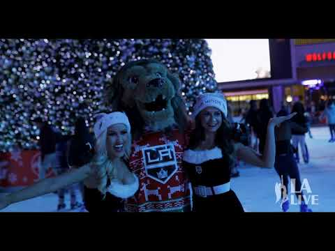 The 2017 LA Kings Holiday Ice at L.A. LIVE Is Open!