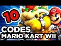 10 CHEATS CODES SUR MARIO KART WII