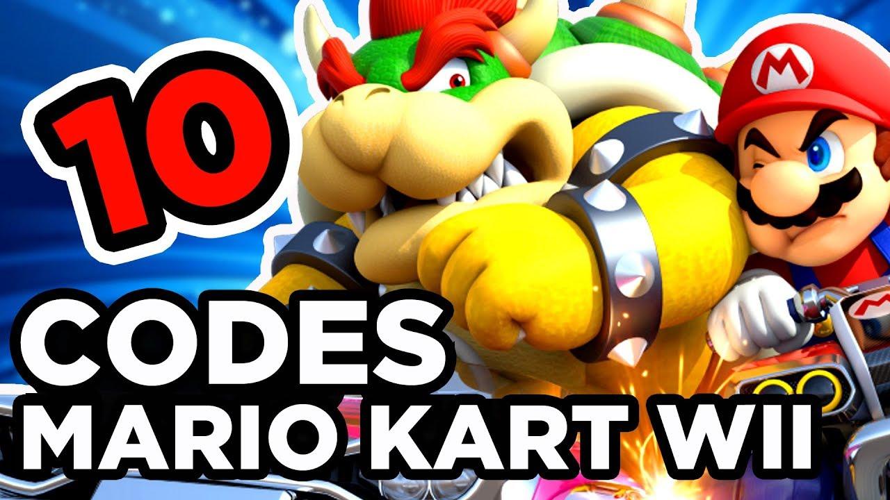 10 Cheats Codes Sur Mario Kart Wii