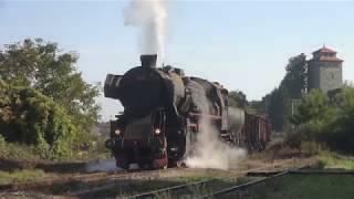 Steam of Tuzla Coal Mines Railway (Bosnia/Herzegovina)(Oct.,2018) 3  ツズラ炭鉱鉄道の蒸気機関車(ボスニア・ヘルツェゴビナ) 3