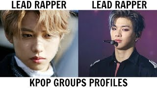 KPOP GROUPS PROFILES | WANNA ONE & STRAY KIDS