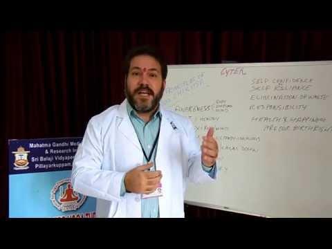 Principles of Yoga Chikitsa explained by Dr Ananda Balayogi Bhavanani