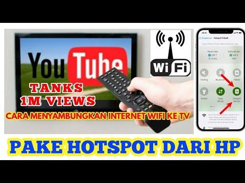 Cara Setting HP Menjadi Modem Untuk Internetan Di Komputer / PC Desktop.