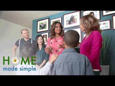 First Look: A Small-Space Oasis for a Single Mom | Home Made Simple | Oprah Winfrey Network