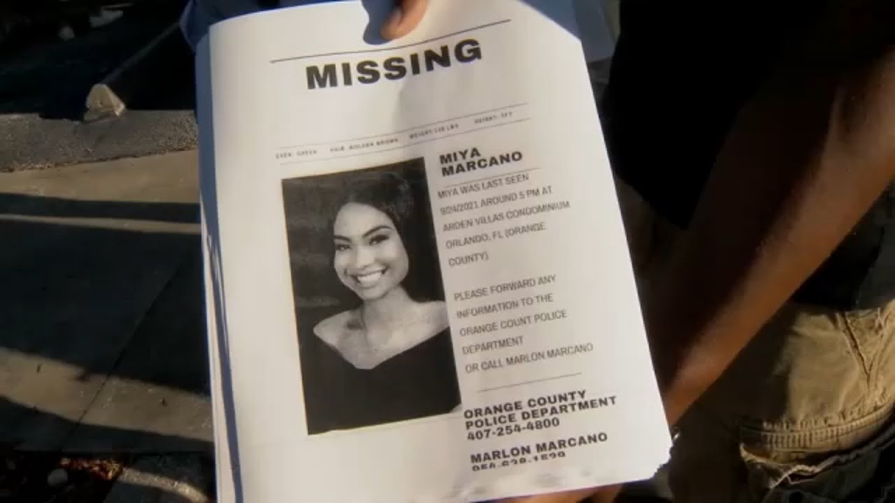 Miya Marcano Case: Body Believed to Be Hers Is Found, Sheriff Says