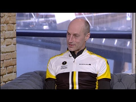 Interview with Greame Obree, on Live at Five