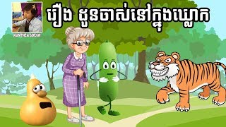 Grand Mother in the Gourd Story | Khmer Fairy Tales | By Kunthea Soeun