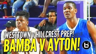 No. 1 DeAndre Ayton v No. 3 Mo Bamba: Hillcrest Prep & Westtown Game Highlights!