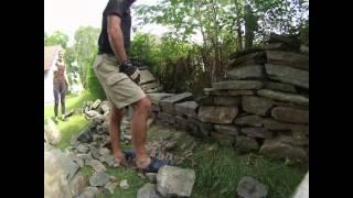20130802 Repairing Garden Wall
