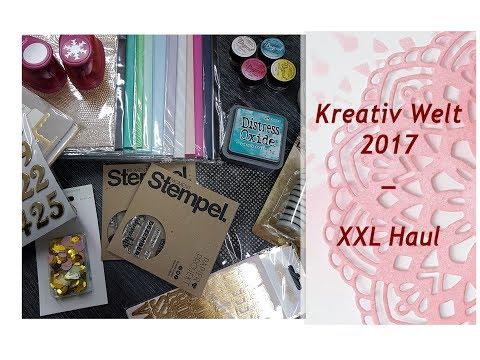 Kreativ Welt Messe Frankfurt - XXL Haul