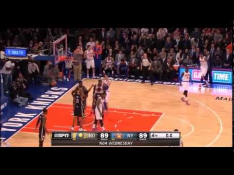 Carmelo Anthony missed clutch shots 13-14 season