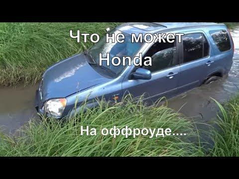 Что не может Honda Cr-V на Оффроуд. Смотреть всем