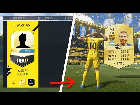 50 WALKOUTS IN 1 SINGLE VIDEO! (Fifa 17 Pack Opening)