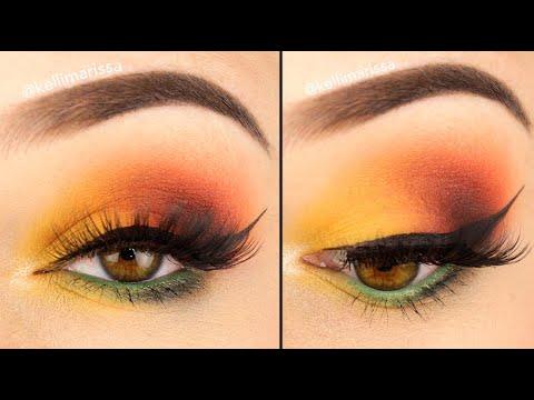Soft Fall Vibes Eye Makeup Tutorial || KELLI MARISSA thumbnail