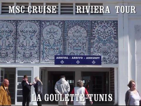 RIVIERA TOUR NA MSC SINFONIA řím salerno tunis ibiza mallorca marseile janov