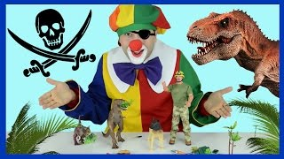 funny videos for kids pirates of the caribbean kid s games clown dinosaur movie