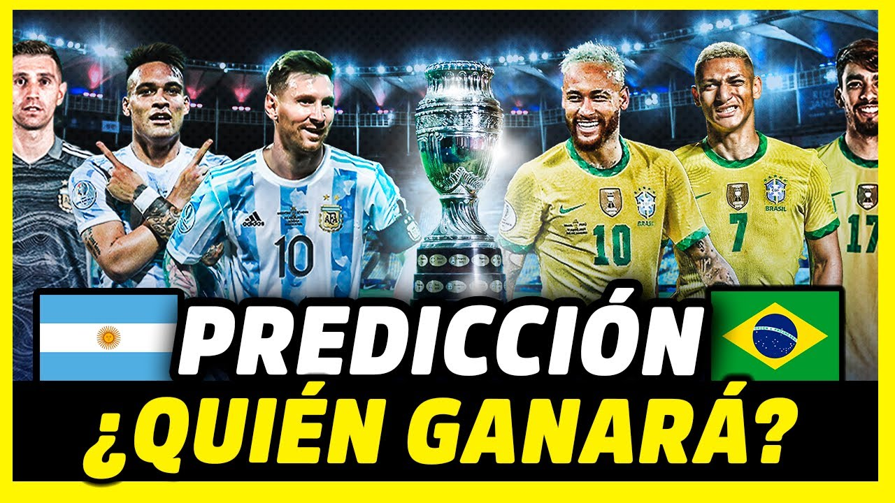 Copa America 2021 final: It's Messi v Neymar, Argentina v Brazil