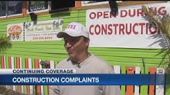 Fort Myers Beach businesses say construction hurting sales