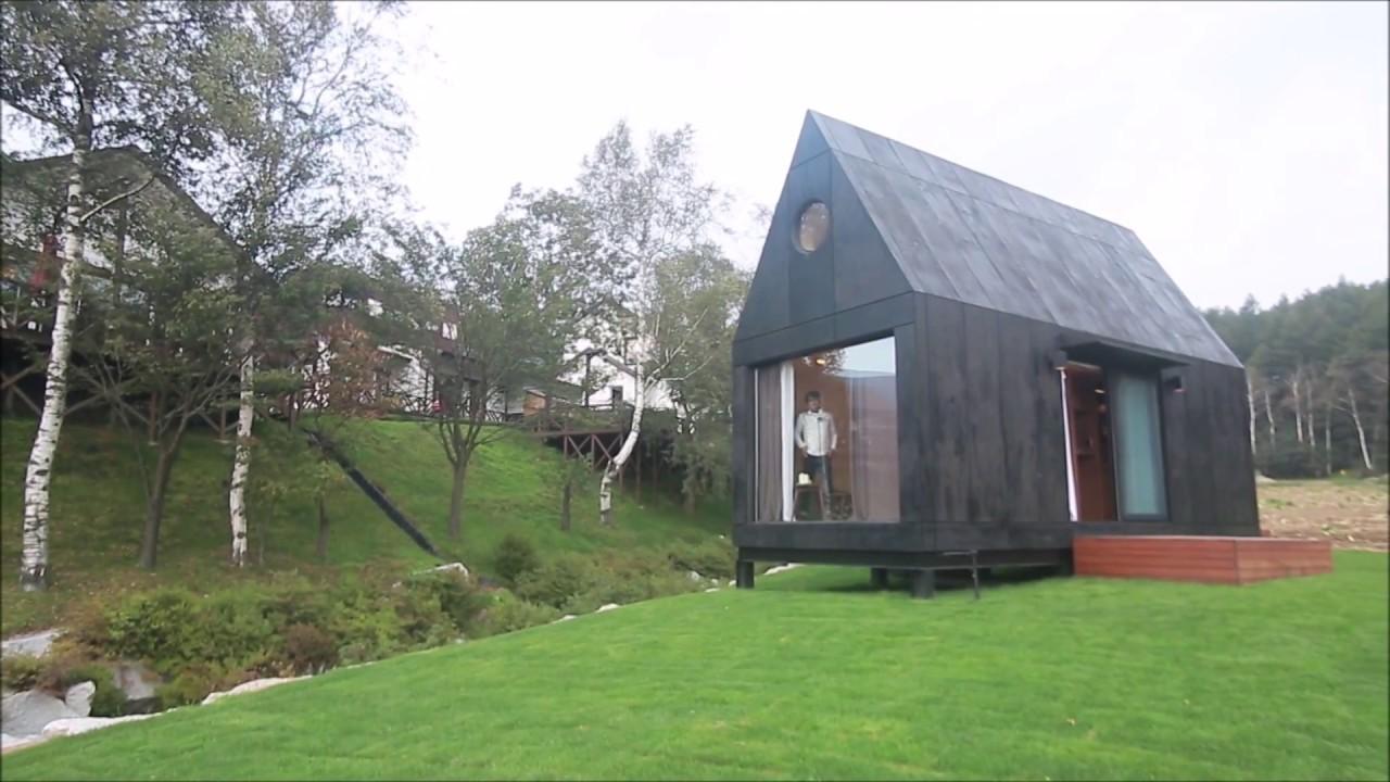 타이니하우스 Tiny House By 대관령 느린마을 Slowtown Youtube