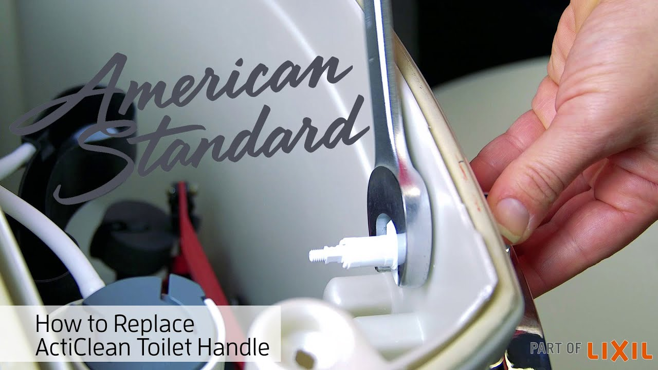 Toilet Handle Replacement – ActiClean Self-Cleaning Toilet by ...