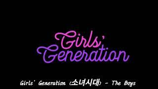 Girls' Generation (소녀시대) - The Boys