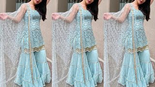 Top 22+ Sharara gharara design/Sharara dress design #sharara #gharara #shararadesign