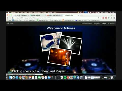 CS5610 music search engine demo